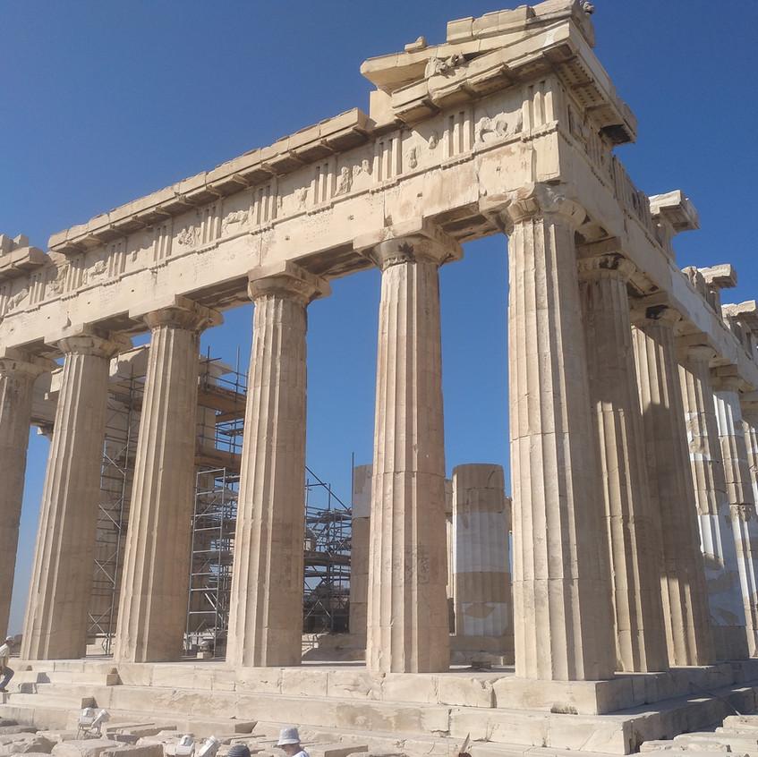 Partenón Acrópolis Atenas.