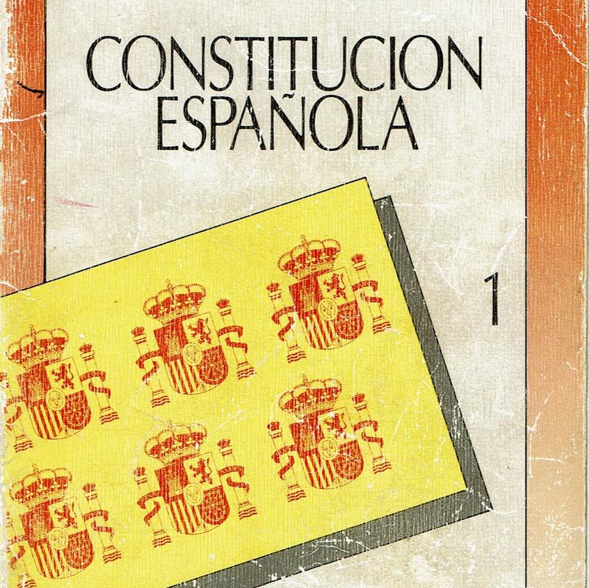 Texto Constitución de 1978. BOE.