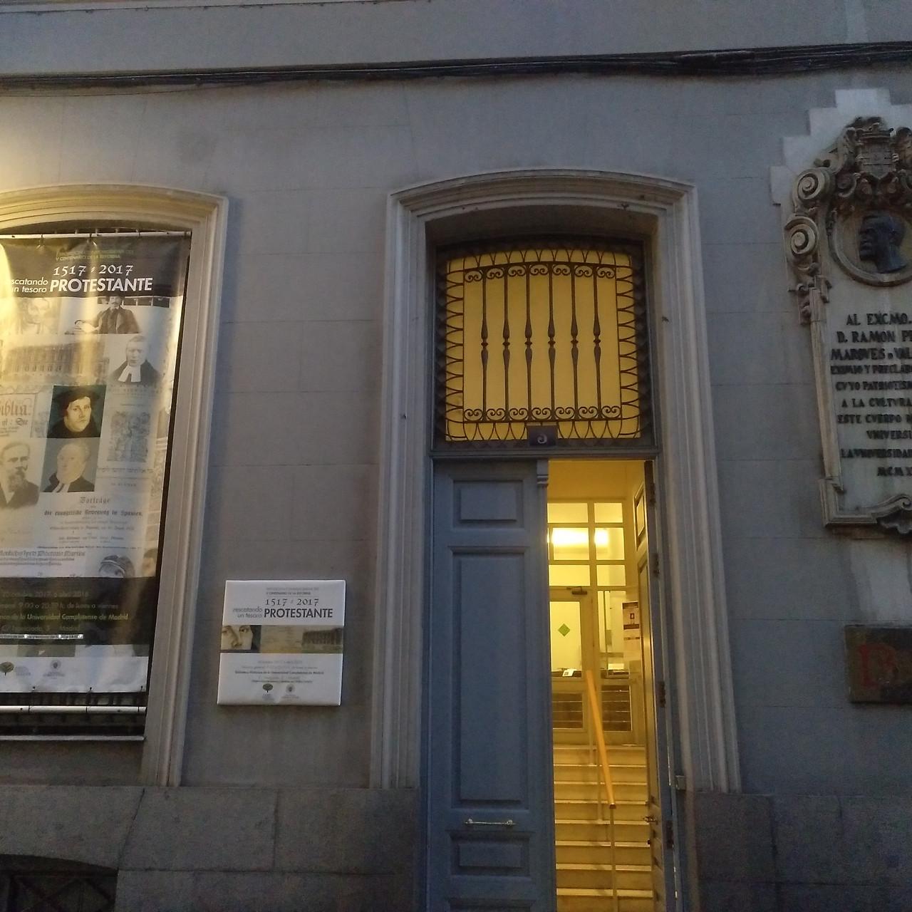 Biblioteca Histórica Complutense.