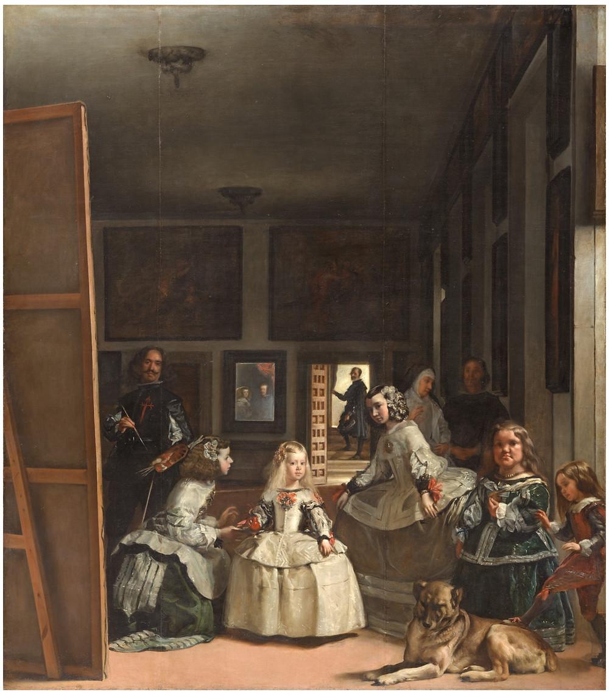Diego Velázquez. Las meninas, Museo del Prado.