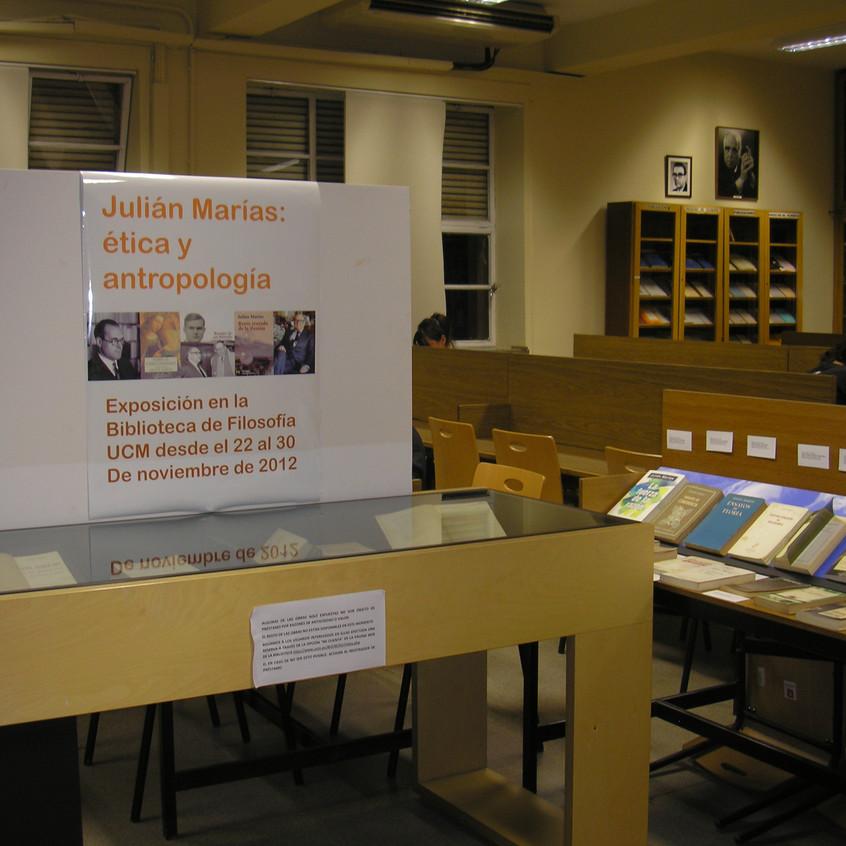 Biblioteca de Filosofía UCM. 2012