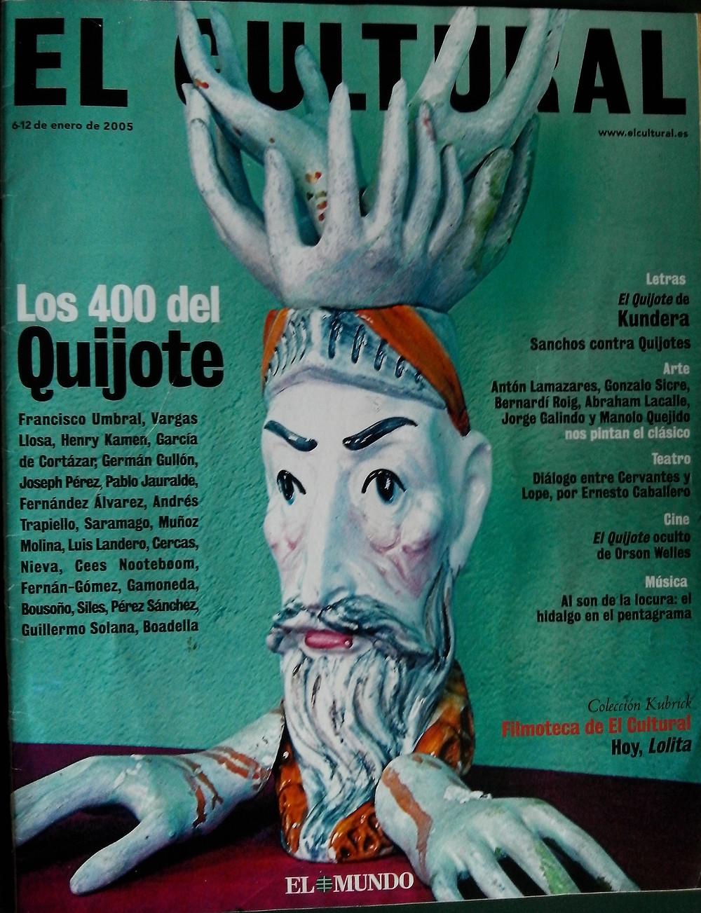 Don Quijote visto por Jorge Galindo para EL CULTURAL.