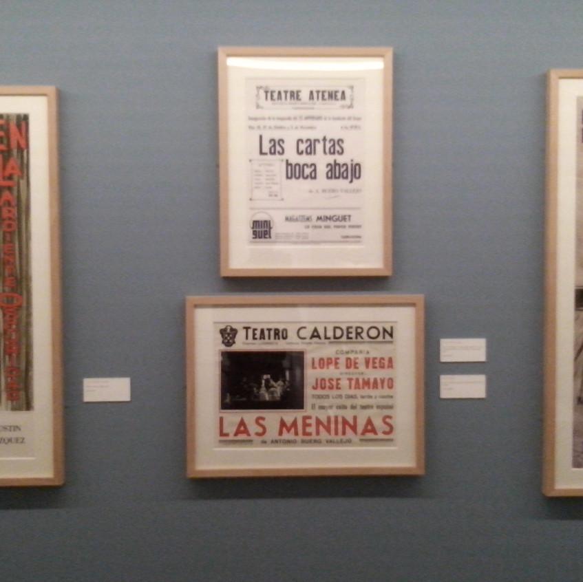 Cartel de <Las Meninas> de Buero.