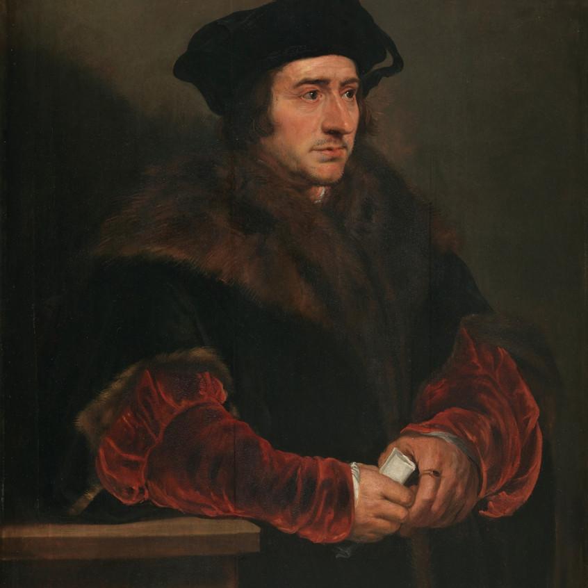 Tomás Moro. Rubens. Museo del Prado