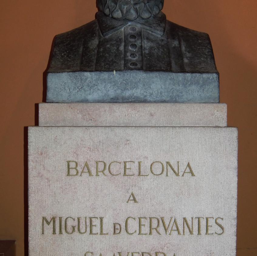 Monumento a Cervantes en Barcelona[667].