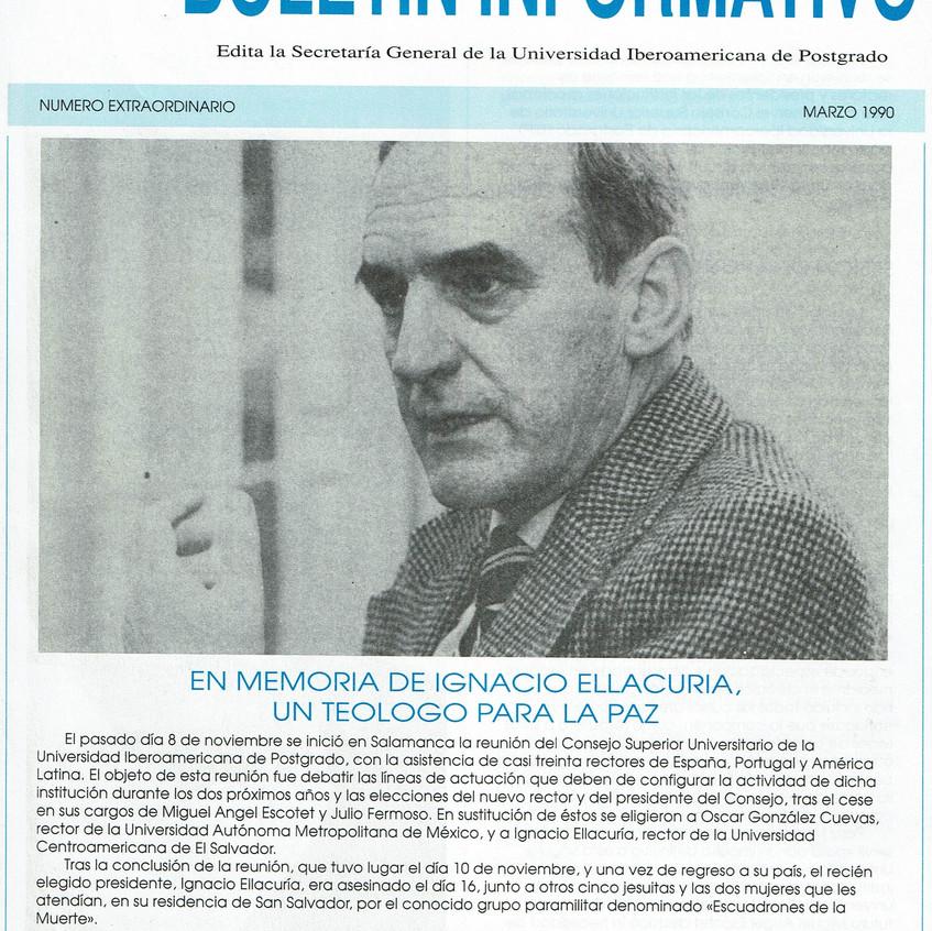 Ignacio Ellacuría. S.J. Salamanca.