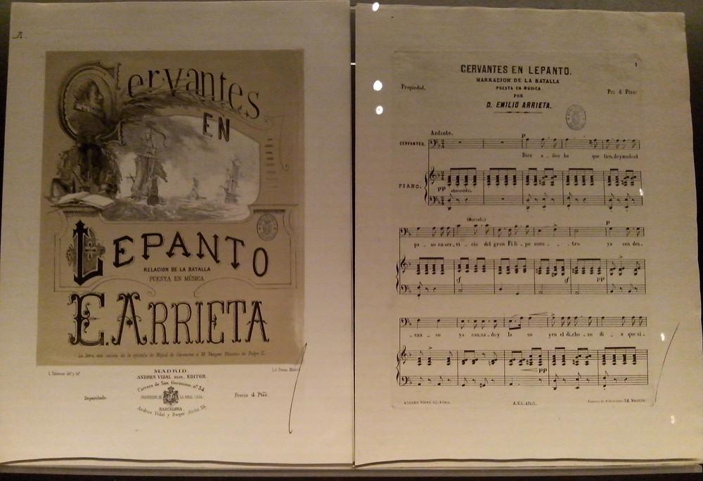 Imagen de la exposición de  Cervantes de la BNE, 2016.