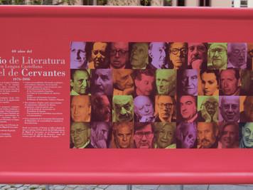PREMIOS CERVANTES. A 40 AÑOS-2016. TODOS LOS PREMIADOS (1976 -2018). Vídeos y discursos de recepción