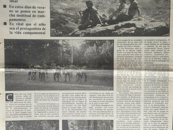 LA NATURALEZA EDUCA. El escultismo: un proyecto educativo de vida al aire libre. José María Callejas