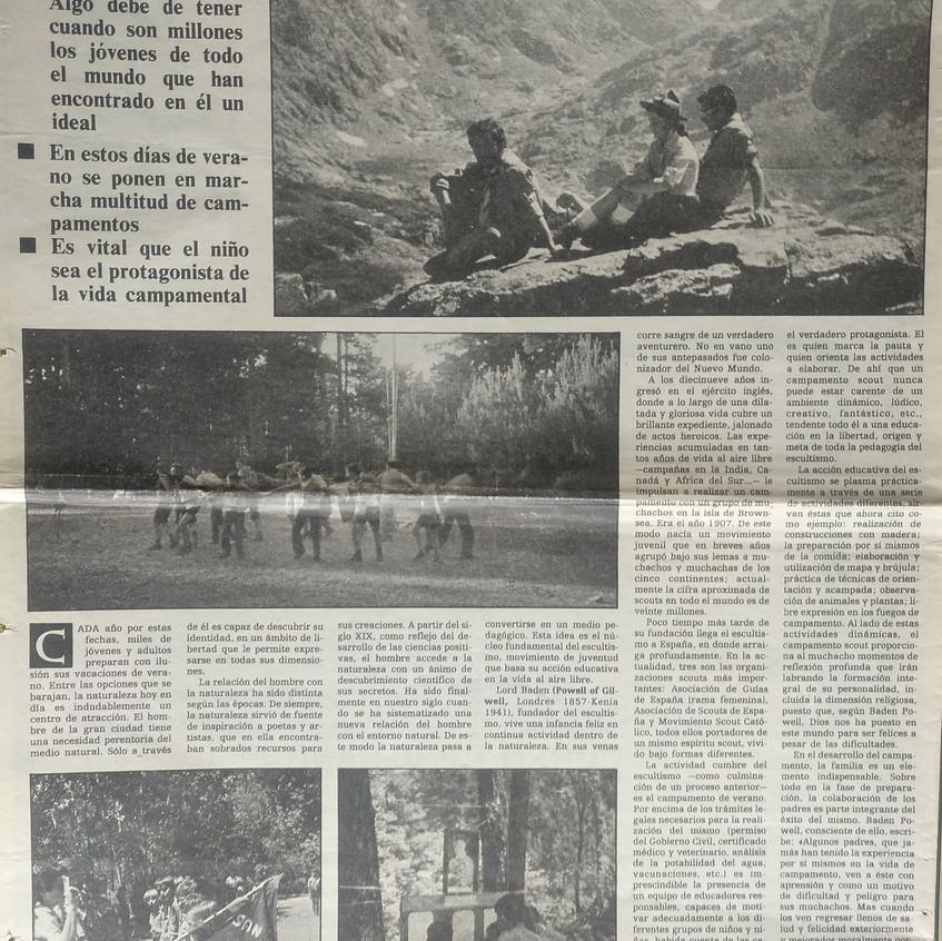 La naturaleza educa. José Mª Callejas