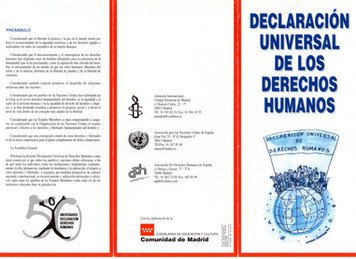 Guía crítica sobre Derechos Humanos. Derecho al Desarrollo y Derecho a la Educación. Propuestas educ