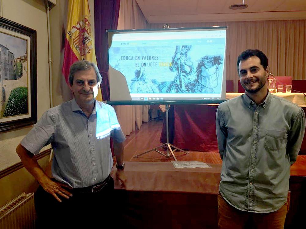 José María Callejas Berdonés y Francisco de Borja Callejas Díaz.
