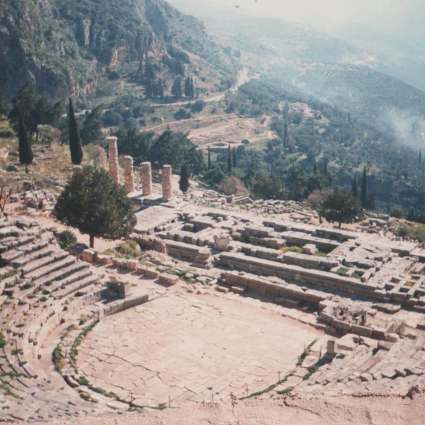 Teatro de Delfos (Grecia).
