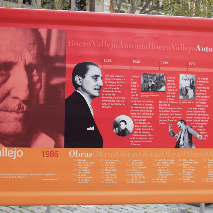 K. Antonio Buero Vallejo 1986