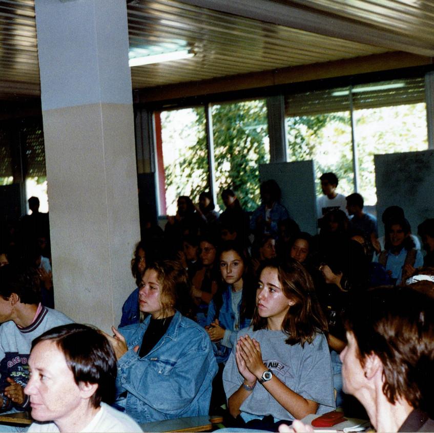 Salón de actos del Rozas 1. 1994-95.