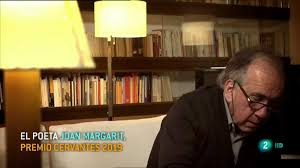 Joan Margarit. Premio Cervantes 2019