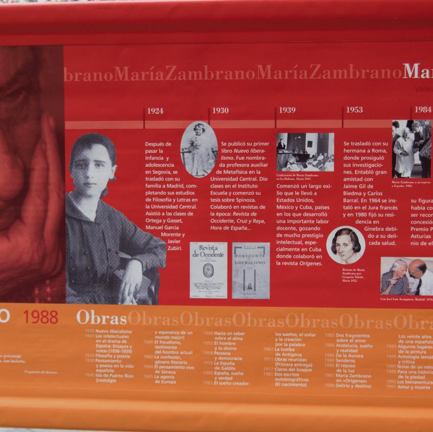 M. María Zambrano 1988