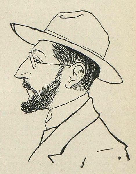 Autorretrato de Miguel de Unamuno. Lee a Miguel de Unamuno en el Instituto Cervantes.