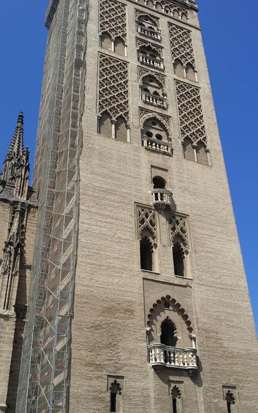 Torre de la Giralda. Sevilla.