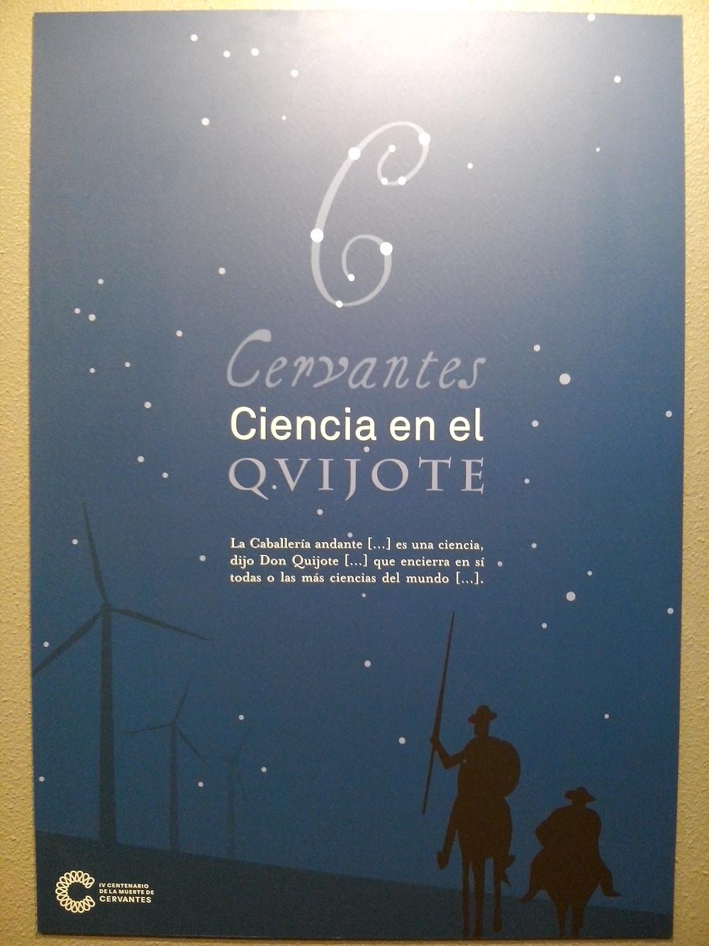 Exposición en el Museo de Ciencias Naturales de Madrid. Cervantes: Ciencia en el Qvijote. 400 Cervantes.