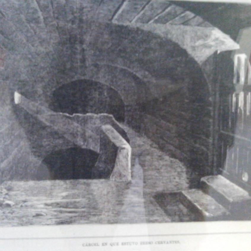 Cárcel de Cervantes en Argel.