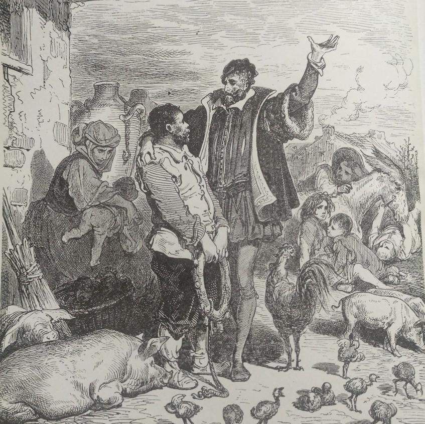 Quijote I, 4