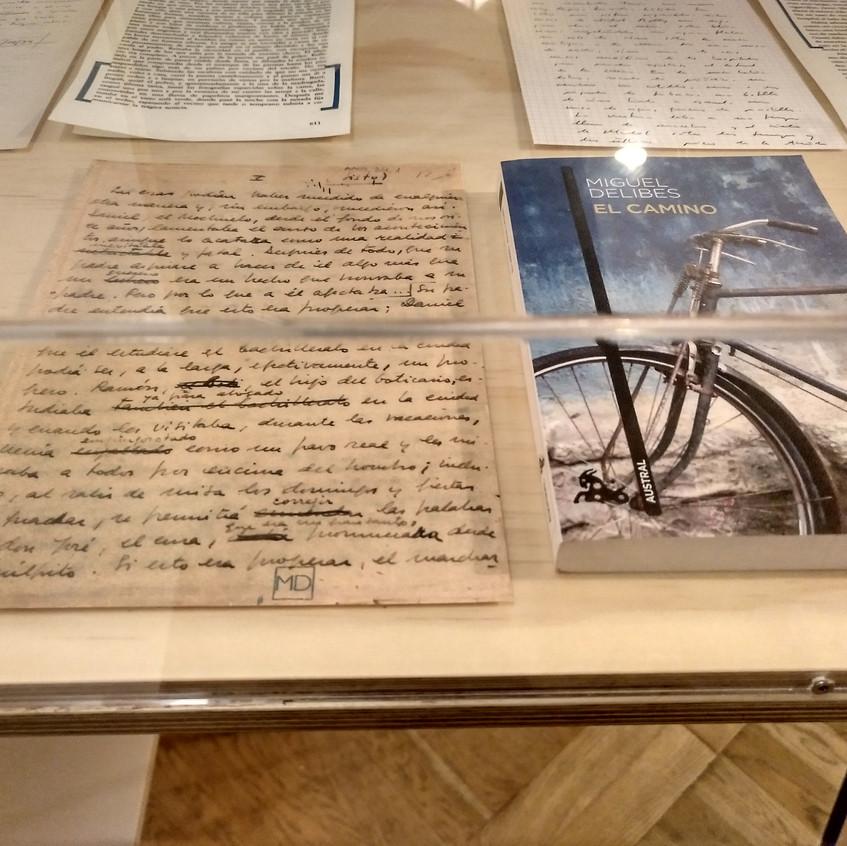 El manuscrito de 1950 de Delibes.