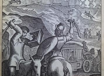 """EL QUIJOTE DE RICO. """"Un Quijote para todos"""". INSTITUTO CERVANTES y el CENTRO para la EDICI"""