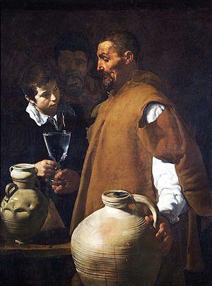El aguador de Sevilla. Diego de Velézquez.