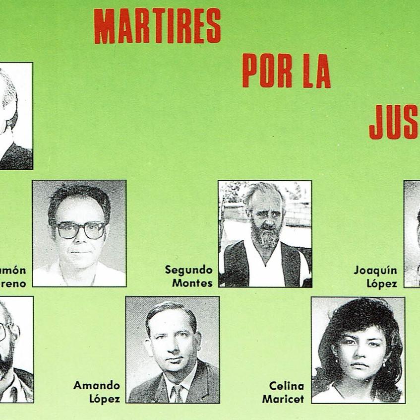 Mártires de la UCA. 16-XI-1989.