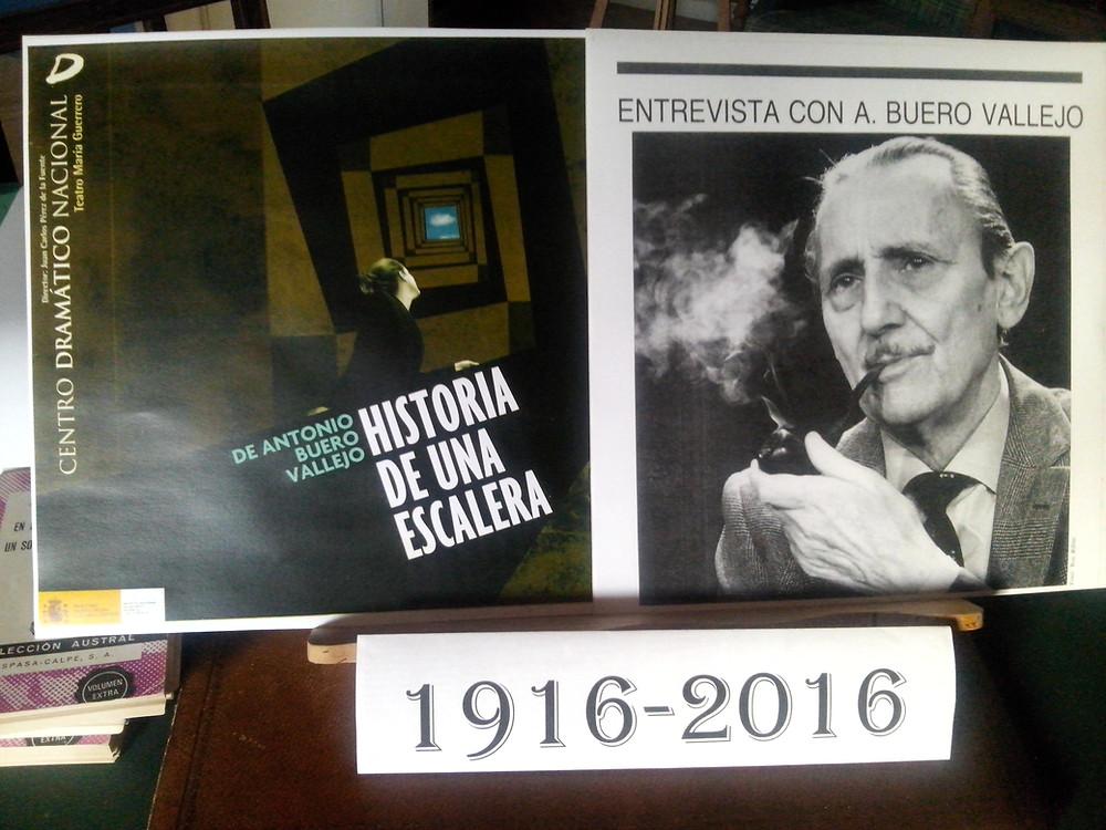 Homenaje a Antonio Buero Vallejo en la Casa Castilla-La Mancha de Madrid.