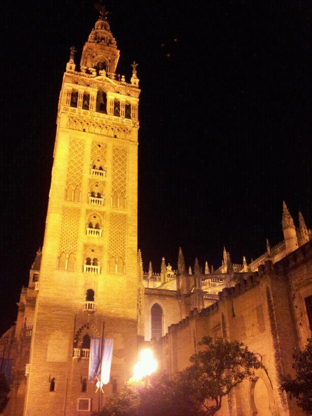 Catedral de Sevilla. Visión nocturna