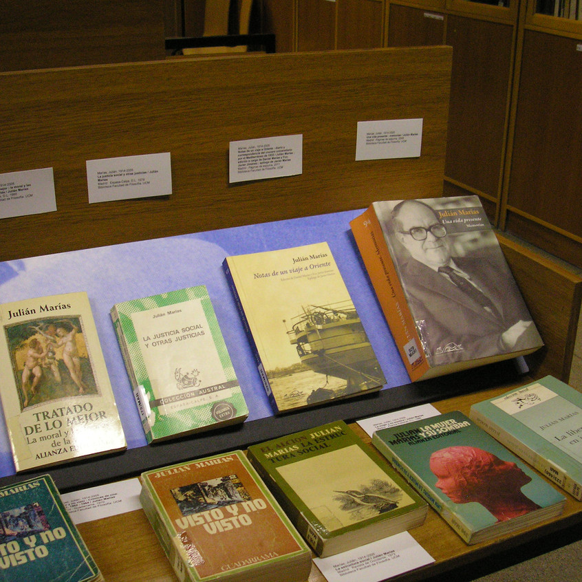 Exposición Biblioteca Filosofía UCM.