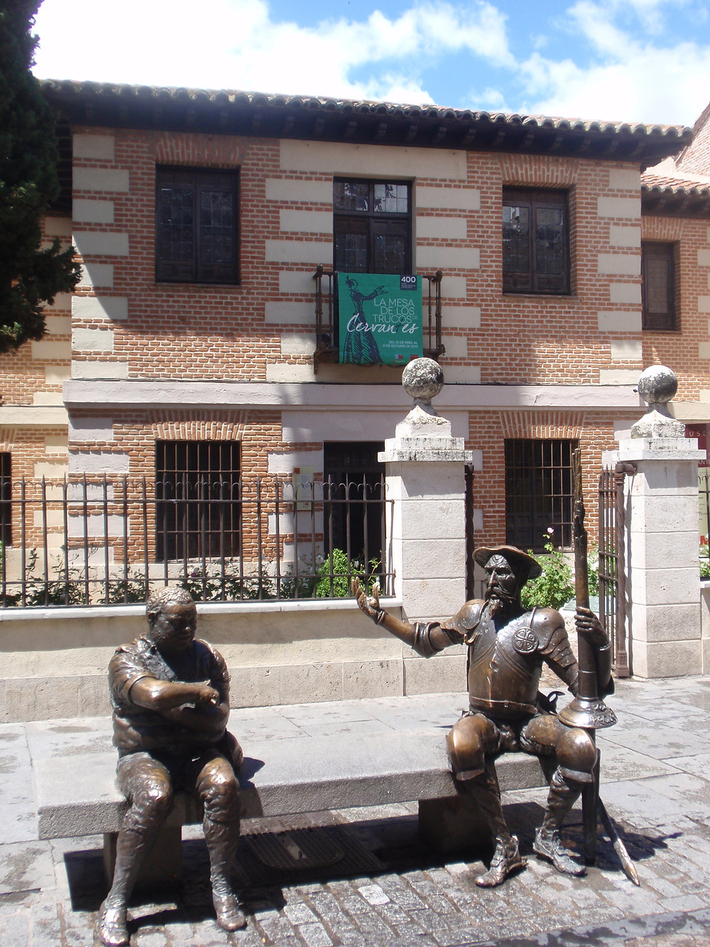 MUSEO CASA NATAL DE CERVANTES. ALCALÁ DE HENARES. MADRID.