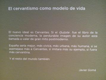 <FÓRMULA CERVANTES>. Javier Gomá Lanzón. Tercera de ABC.