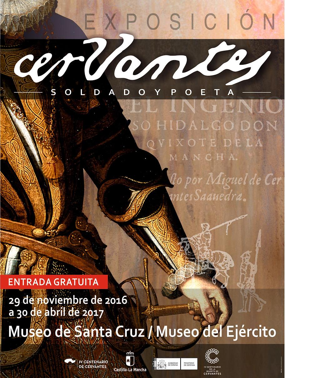 Exposición Cervantes, soldado y poeta en Toledo.