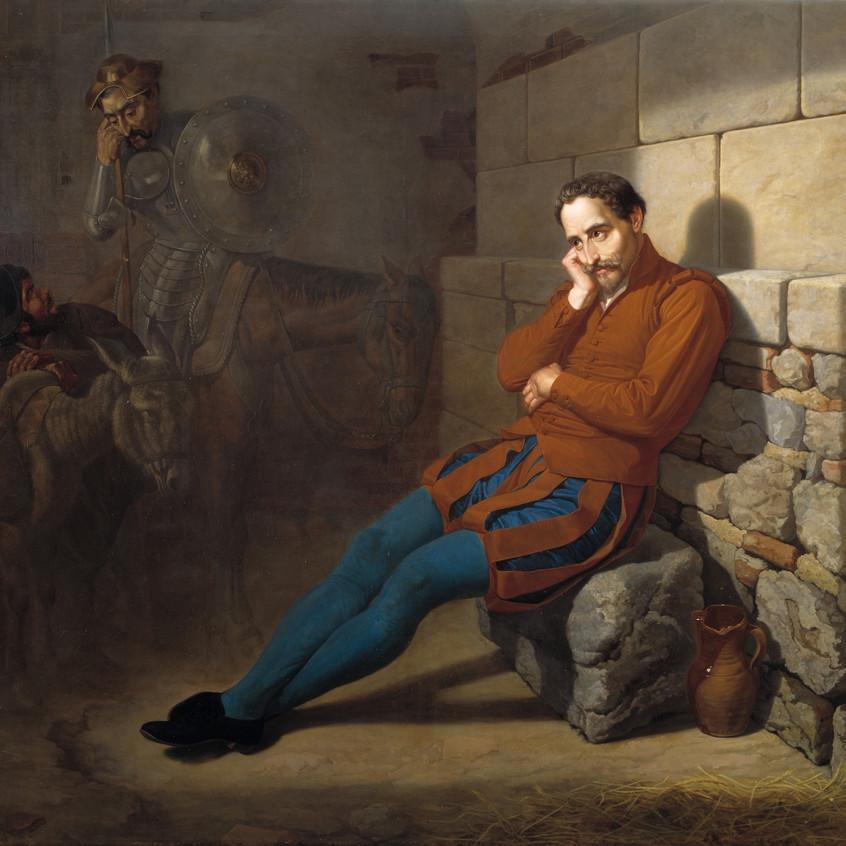 Miguel de Cervantes, imaginando El Quijo