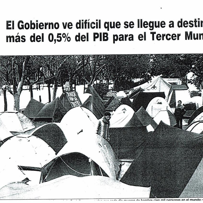 Acampada de la Solidaridad.