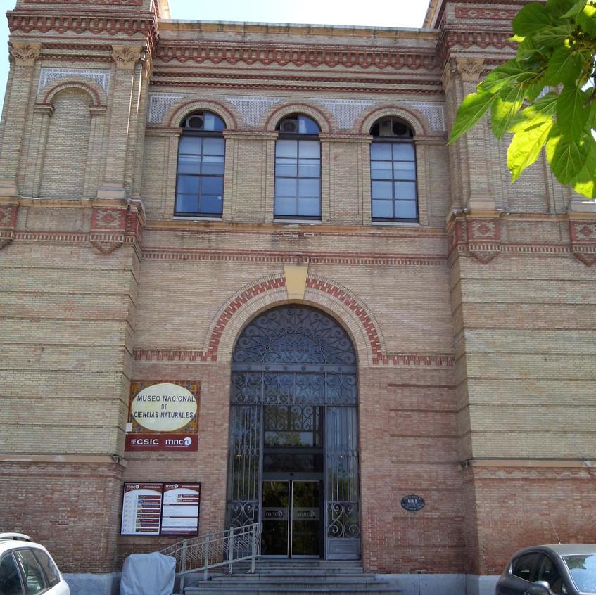 Cervantes. 2016. 0. Museo Nacional de Ciencias Naturales