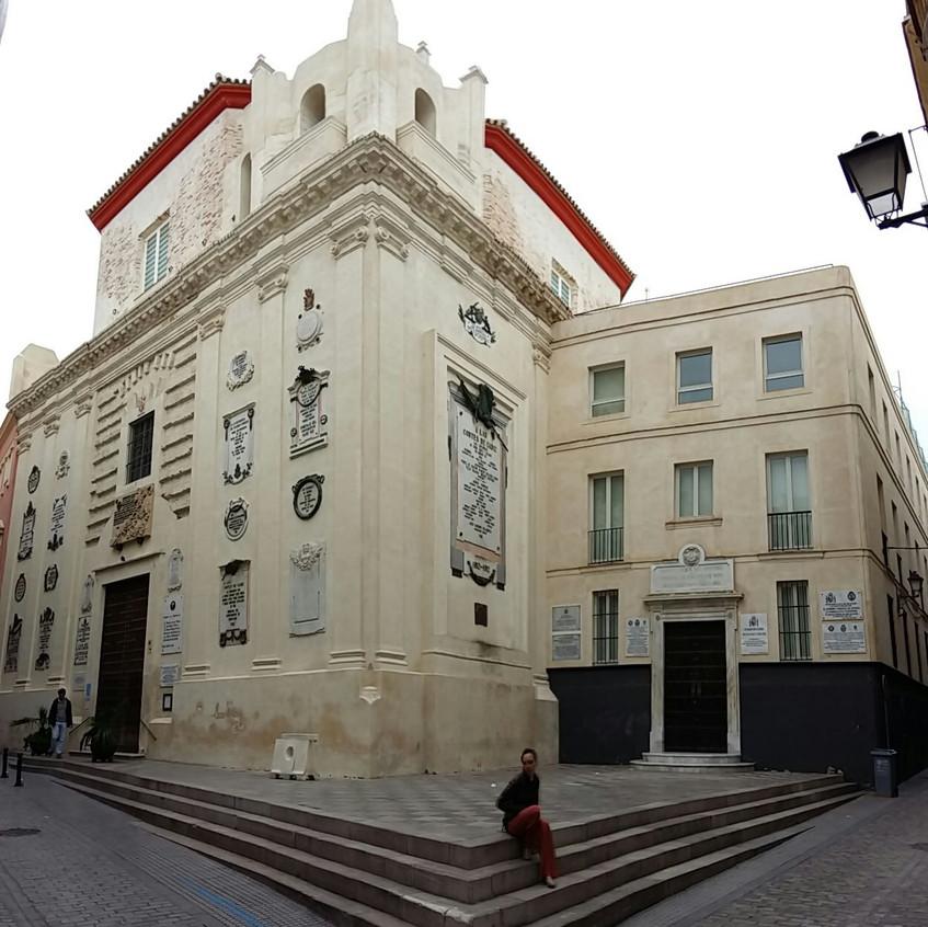 Edificio de las Cortes de Cádiz.