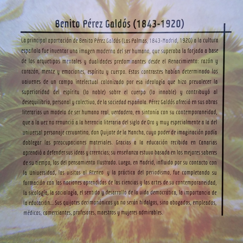 Benito Pérez Galdós. Exposición BNE