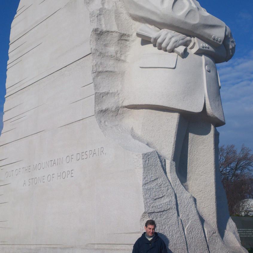 Monumento a Luther King  Washington.