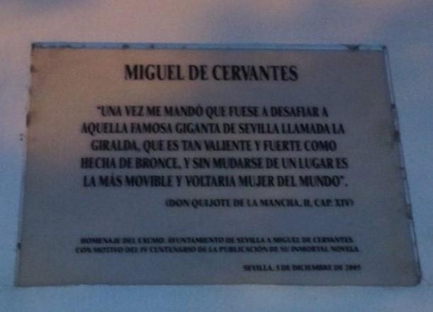 Cervantes, la Sevilla del Quijote.