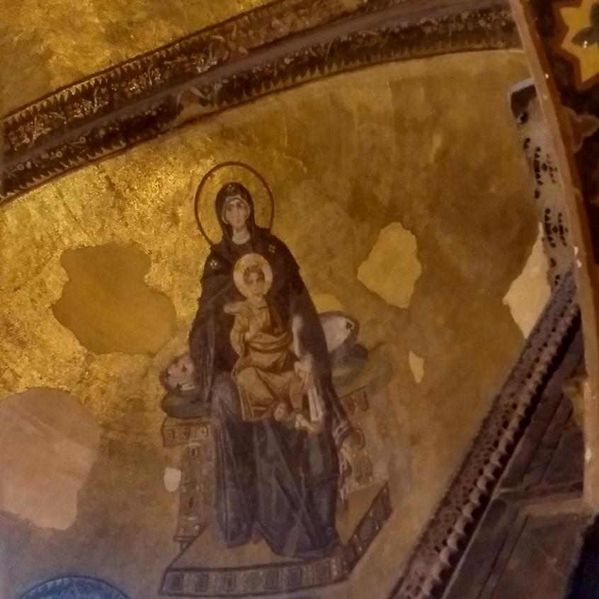 Virgen María S. Sofía. Estambul. 3.