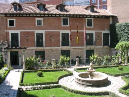 Casa de Cervantes en Valladolid. Ministerio de educación, Cultura y Deporte.