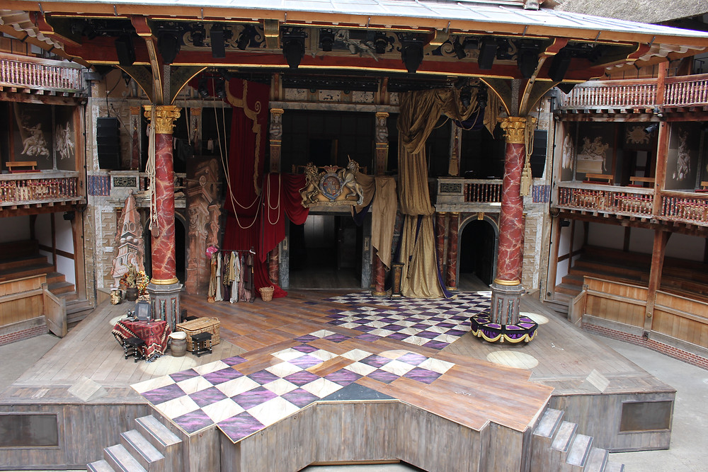 Enlace web Home Shakespeare's Globe.