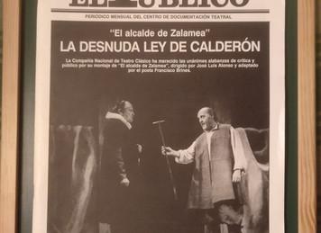 Reflexión filosófica sobre <El alcalde de Zalamea> de Pedro Calderón de la Barca.