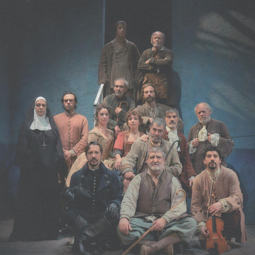 Los actores del Concierto.