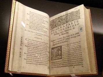 Presentación del libro El Quijote Universal, Siglo XXI, en la Biblioteca Nacional de España.
