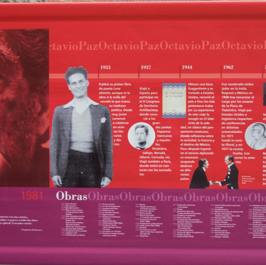 F. Octavio Paz 1981